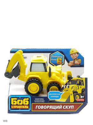 Боб-строитель Говорящие транспортные средства Mattel. Цвет: желтый