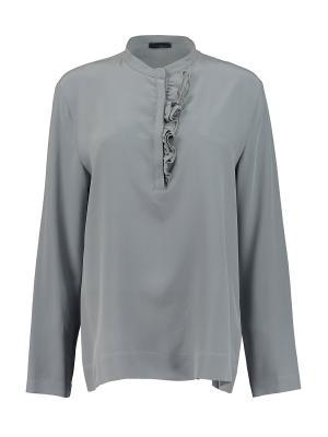 Блуза Peserico. Цвет: серый, голубой
