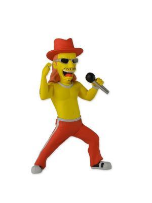 Фигурка The Simpsons 5 Series 1 - Kid Rock Neca. Цвет: красный