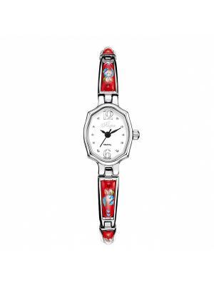 Часы Mikhail Moskvin. Цвет: серебристый, красный