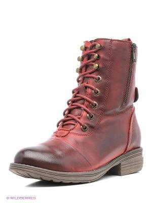 Ботинки Baden. Цвет: красный