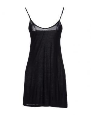 Короткое платье APPARTAMENTO 50. Цвет: черный
