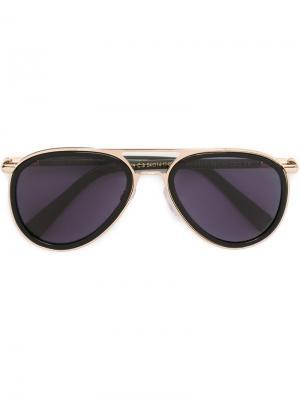 Солнцезащитные очки 1199 Cutler & Gross. Цвет: чёрный