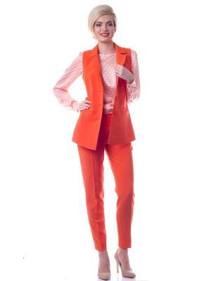 Жилетка OKS by Oksana Demchenko. Цвет: оранжевый
