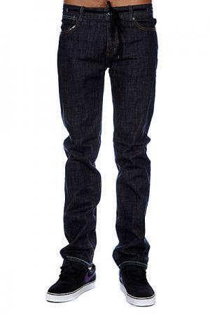 Джинсы прямые мужские классические  A Jeans Blue Armour. Цвет: синий