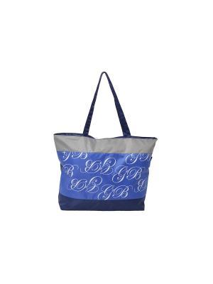 Сумка пляжная GOOD BAG. Цвет: синий, лазурный