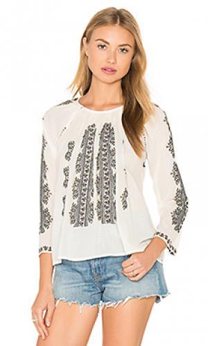 Блузка Hoss Intropia. Цвет: белый