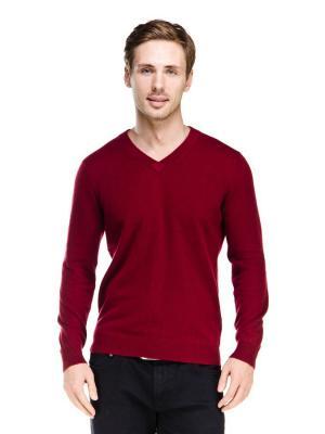 Пуловер VipDressCode. Цвет: бордовый