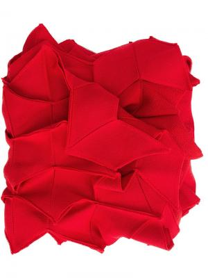 Шарф с геометрическим дизайном Junya Watanabe Comme Des Garçons. Цвет: красный