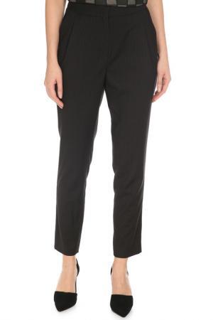 Прямые брюки с карманами Caterina Leman. Цвет: черный, серый 09,08