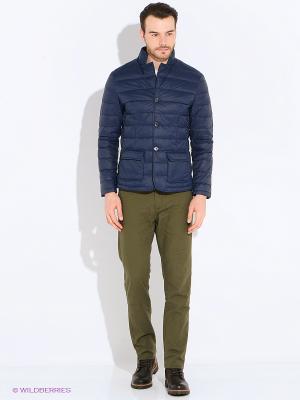 Куртка Mansion. Цвет: синий