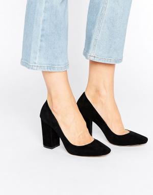 Raid Туфли на блочном каблуке Riz. Цвет: черный
