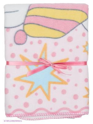 Одеяло Baby Nice. Цвет: бледно-розовый, белый