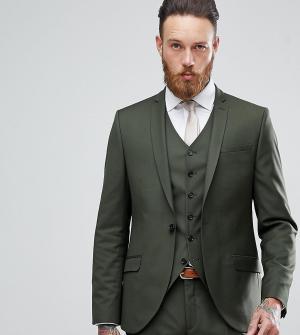 Heart & Dagger Приталенный пиджак. Цвет: зеленый