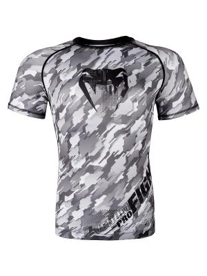 Рашгард Venum Tecmo S/S - Grey. Цвет: черный, серый
