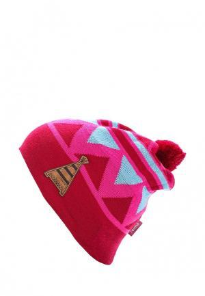Шапка Reima. Цвет: розовый