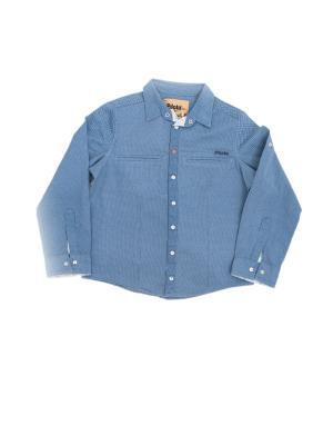 Рубашка Pilota. Цвет: синий