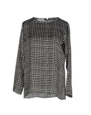 Блузка ROSSO35. Цвет: черный
