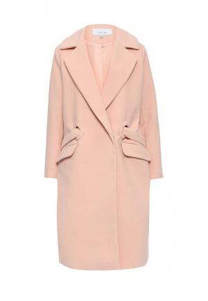Пальто LOST INK. Цвет: розовый