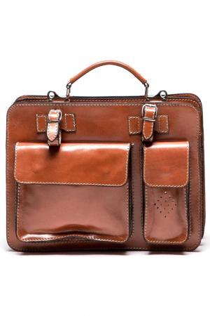 Бизнес-сумка Isabella Rhea. Цвет: cognac