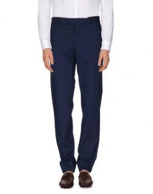 Повседневные брюки YOON. Цвет: темно-синий