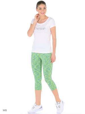 Бриджи ANTA. Цвет: зеленый