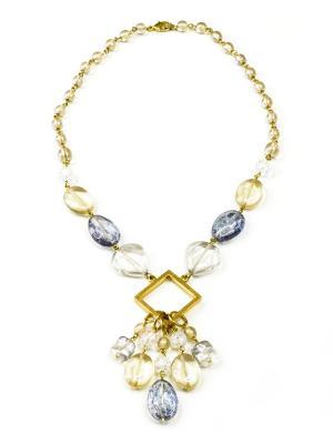 Ожерелья Bohemia Style. Цвет: светло-бежевый
