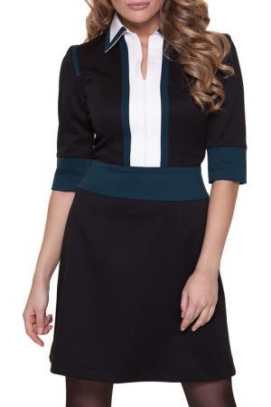Платье Gloss. Цвет: черный, молочный, зеленый