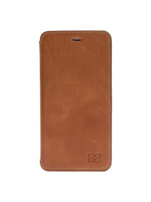 Чехол книжка iPhone 7 Plus Bouletta. Цвет: коричневый