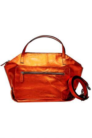 Сумка Plinio Visona. Цвет: оранжевый
