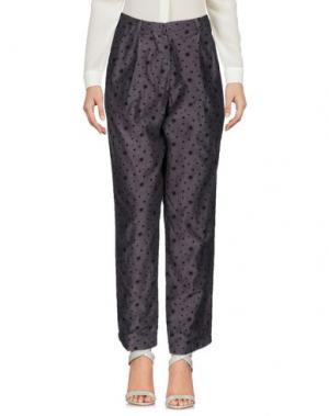 Повседневные брюки SOHO DE LUXE. Цвет: стальной серый