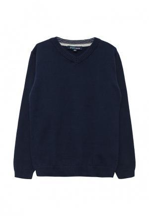 Пуловер Z Generation. Цвет: синий