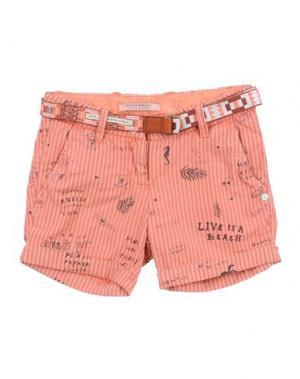Повседневные шорты SCOTCH R'BELLE. Цвет: лососево-розовый