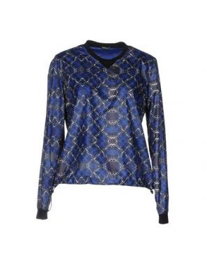 Блузка F**K PROJECT. Цвет: синий