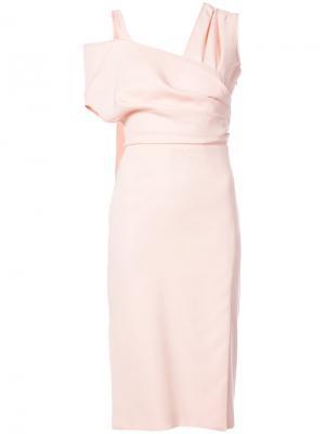 Платье Madon Altuzarra. Цвет: розовый и фиолетовый