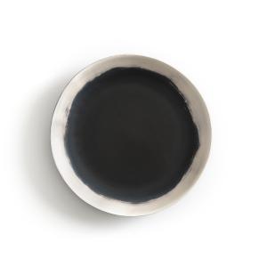 Тарелка плоская из фаянса, Asakan By V.Barkowski (x4) AM.PM.. Цвет: черный/ белый