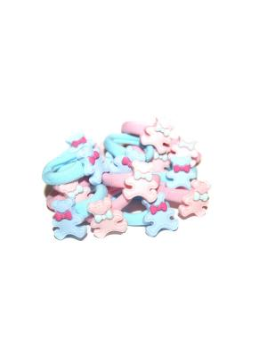 Резиночки, 16 шт Lola. Цвет: розовый,голубой