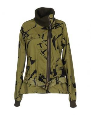Куртка ADDICT. Цвет: зеленый-милитари