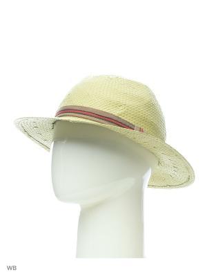 Шляпа United Colors of Benetton. Цвет: оливковый
