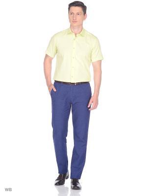Рубашка BAWER. Цвет: салатовый