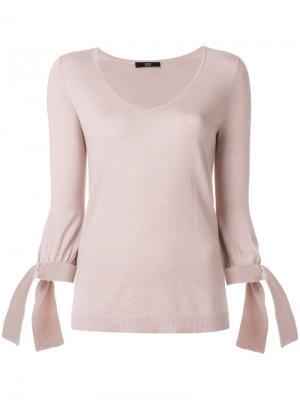 Трикотажная блузка Steffen Schraut. Цвет: розовый и фиолетовый