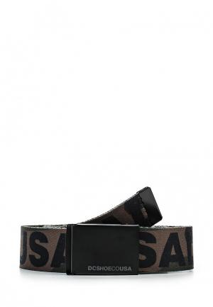 Ремень DC Shoes. Цвет: хаки