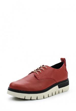 Ботинки Caterpillar. Цвет: красный