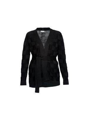 Кардиган Smart Casual Wooly's. Цвет: черный