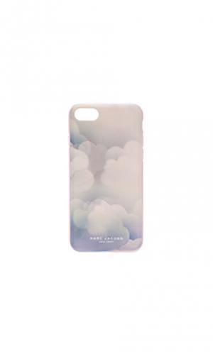 Чехол для iphone 7 julie vehoeven lenticular clouds Marc Jacobs. Цвет: синий
