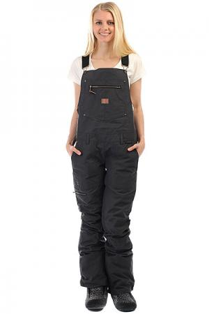 Штаны сноубордические женские DC Collective Black Shoes. Цвет: черный