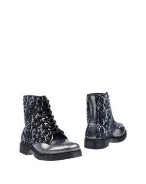 Полусапоги и высокие ботинки 2STAR. Цвет: серебристый