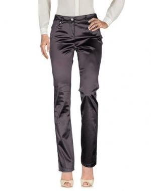 Повседневные брюки 22 MAGGIO BY MARIA GRAZIA SEVERI. Цвет: свинцово-серый