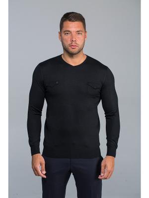 Пуловер John Jeniford. Цвет: черный