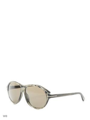 Солнцезащитные очки FT 0398 20B Tom Ford. Цвет: коричневый